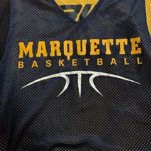Marquette Basketball Practice Jersey Reversible